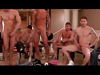 Hot jocks in suck fuck pass gay orgy