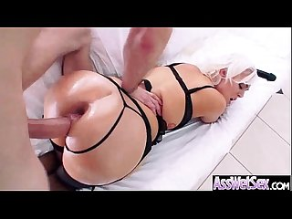 Naughty Girl (jenna ivory) With Big Wet Butt Love Hardcore Anal Sex movie-11