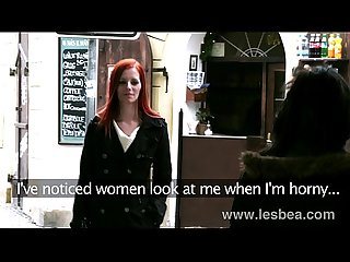 Lesbea hd redhead sex addict takes young girl off the street