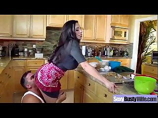 Big Tits Housewife (ariella ferrera) Love Hardcore Intercorse On Tape clip-04