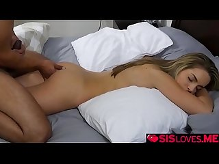 Kimmy Granger ride her step bros cock