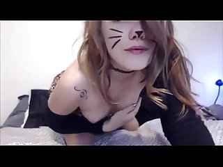 Amateur kitkat girl masturbate at loveforcams period com