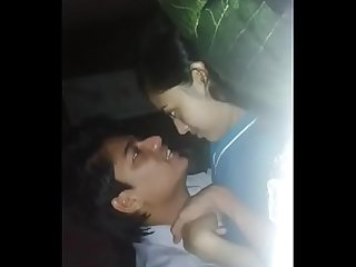 Indian girl with his cousin brother enjoying ( Watch full GODDE$$ at..