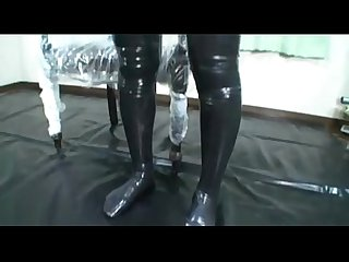 Japanese latex catsuit 31 homejizzporn com