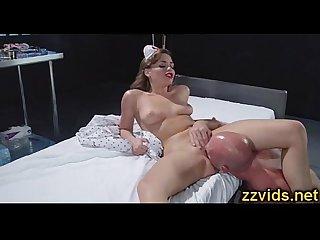 Sexy nurse mia malkova hot fuck