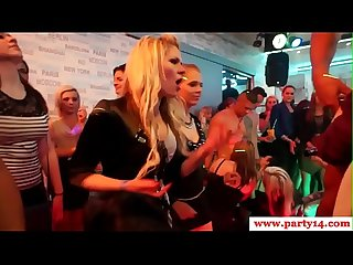 Euro amateurs licking whipcream at sexparty