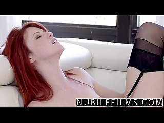 Hot wifes lesbian affair with young redhead