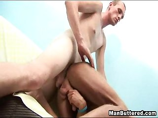 Big facial gay cum ass squirting