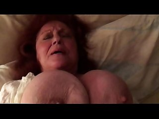 Fucking a huge breasted amateur granny vol 4