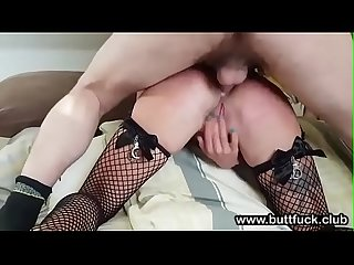 Submissive Amateur GF Ass Spanking Anal