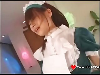 Japanese Maid In A Threesome - More Japanese XXX Full HD Porn at www.IFLJAPAN.com