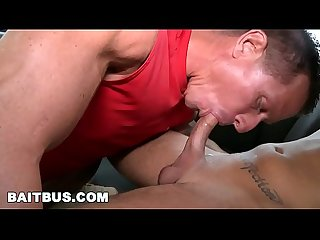 Bait bus the rock tricks cody robbinson into having gay sex