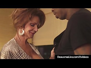 Hot Mature Cougar Deauxma Gets Drilled By A Big Black Cock!