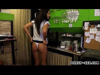 Barmaid Alexa Tomas smashed by her customer for money