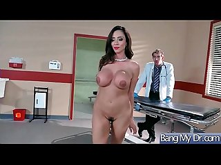 Sex Adventures Between Doctor And Beauty Sluty Patient (Ariella Ferrera) video-02