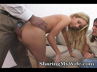 Immensely thick cock pounds little wifey