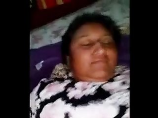 Indian busty bhavi s hairy pussy drilling caught in bed bedroom
