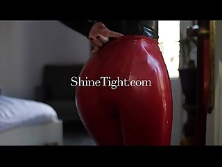 Shinetight com unknown beauties their first latex experience 2017