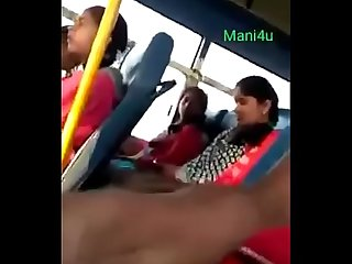 Public flashing in bus