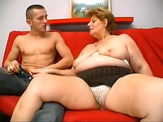 A big blonde granny from desiresbbw period com