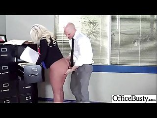 Busty horny girl julie cash get hard style sex in office vid 18