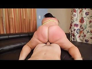Bbw booty beautiful delicious white