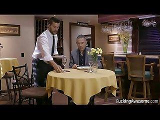 Fuckingawesome the waiter Elena koshka