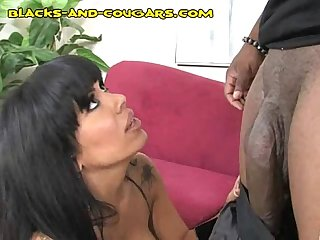 MILF Thrilled with Black's Size