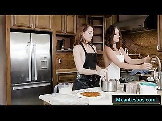 Lesbos from WeLiveTogether - Slut Lust Pizza with Ashley Adams and Brooke Haze lesbo clip-01