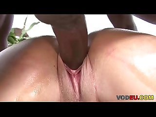 VODEU - Oiled ebony ass