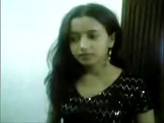 Bangladeshi hot girl in hotel with customer