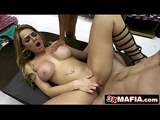 Smoking Hot Bimbo Fucking for Cash in a Bikini Shop, Skyla Novea, Katalina Mills