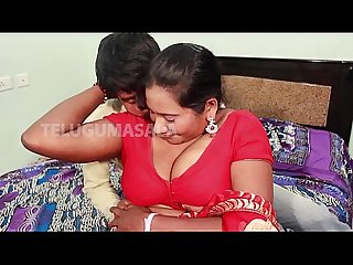 Hot aunty romance with brother