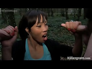 Cum loving Asian Milf loves to go dogging
