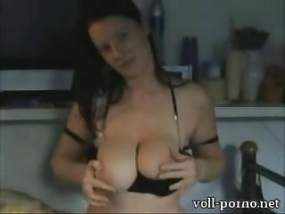Big tits teasing on cam
