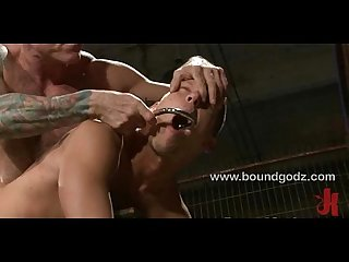 Nick Morretti fucks Shane in bondage