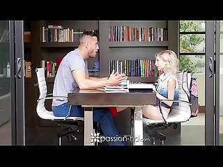 Passion Hd tiny blonde piper perri fucks her big Dick tutor