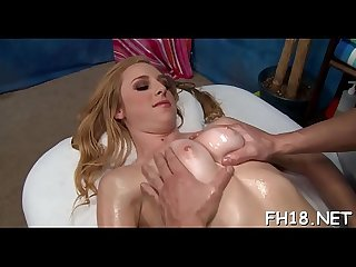 Sexy babe plays with 10-pounder then gets nailed hard