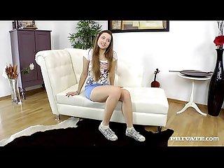 Taissia shanti comma Russian teen in A porn scene period period period