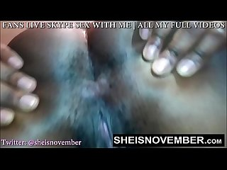 Young pussy face sitting you pov by msnovember feeding you Ass worship porno 18y