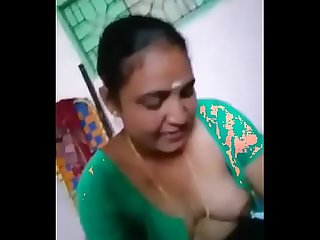 Tamil cute aunty with tamil conversation