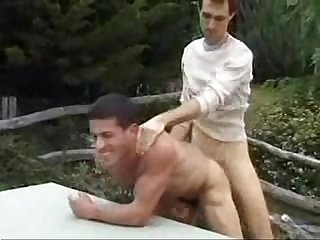 Gay outdoor fuck
