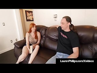 Ginger bush lauren phillips gets pounded by Sex coach
