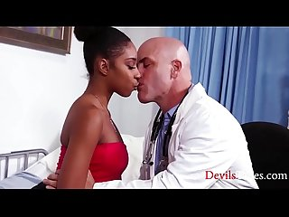 Black Teen Fucks Her DOCTOR- Lalalvey