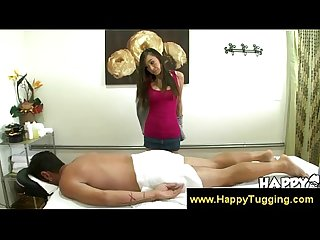 Asian masseuse getting ready to nasty