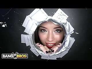 Bangbros Asian Teen daisy summers visits our dank ass glory hole