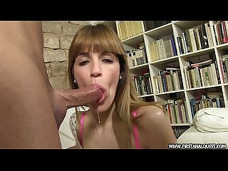 Firstanalquest com anal destruction of a leggy spanish girl in high heels