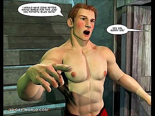 Adventures of cabin boy 3d gay world comics