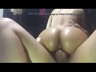 Latina rides cock