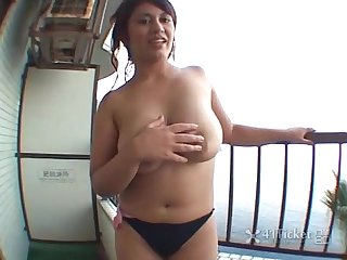 41ticket maria hayashi s balcony bang uncensored jav
